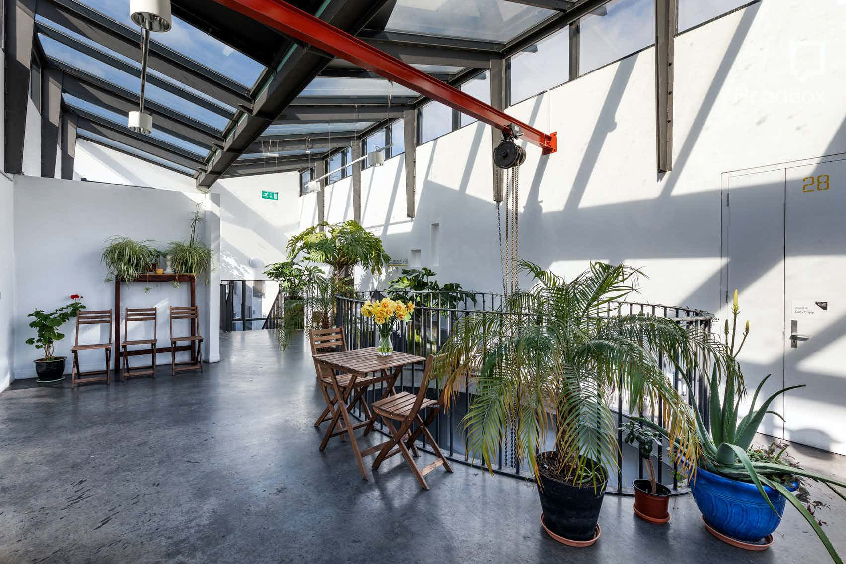Top Floor Atrium & Balcony, Temple Bar Gallery + Studios