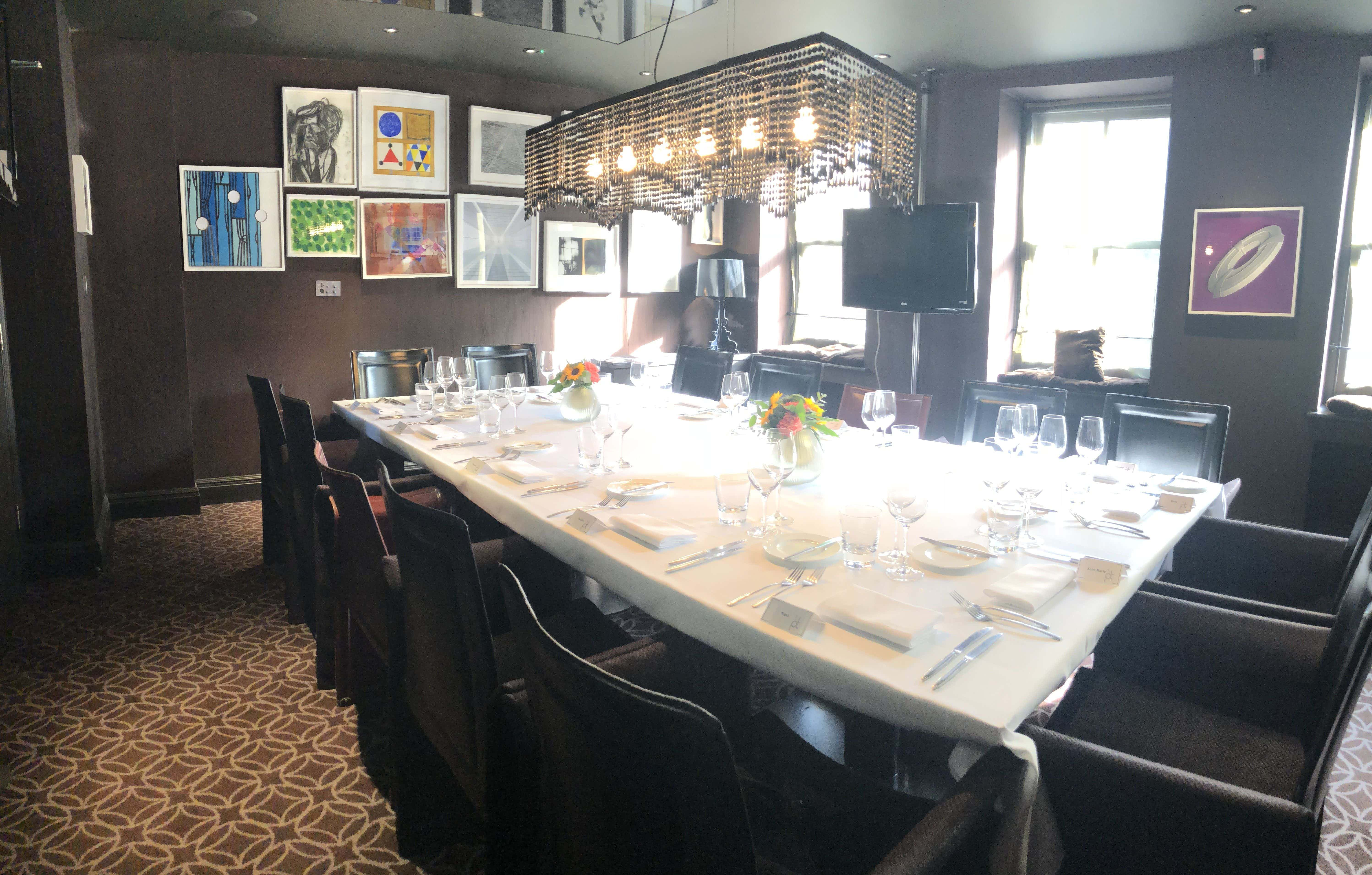 Private Dining at Michelin Star Restaurant, Pied-a-terre