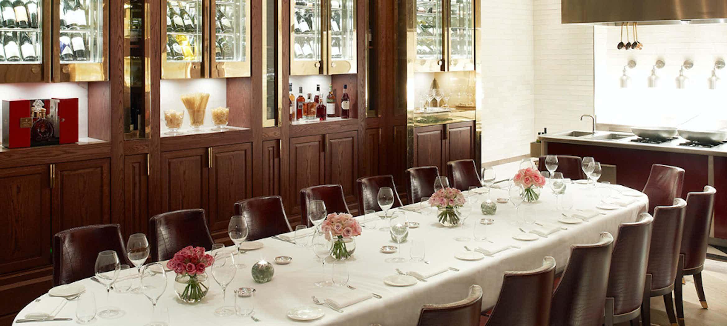 Massimo Private Dining Room, Corinthia Hotel