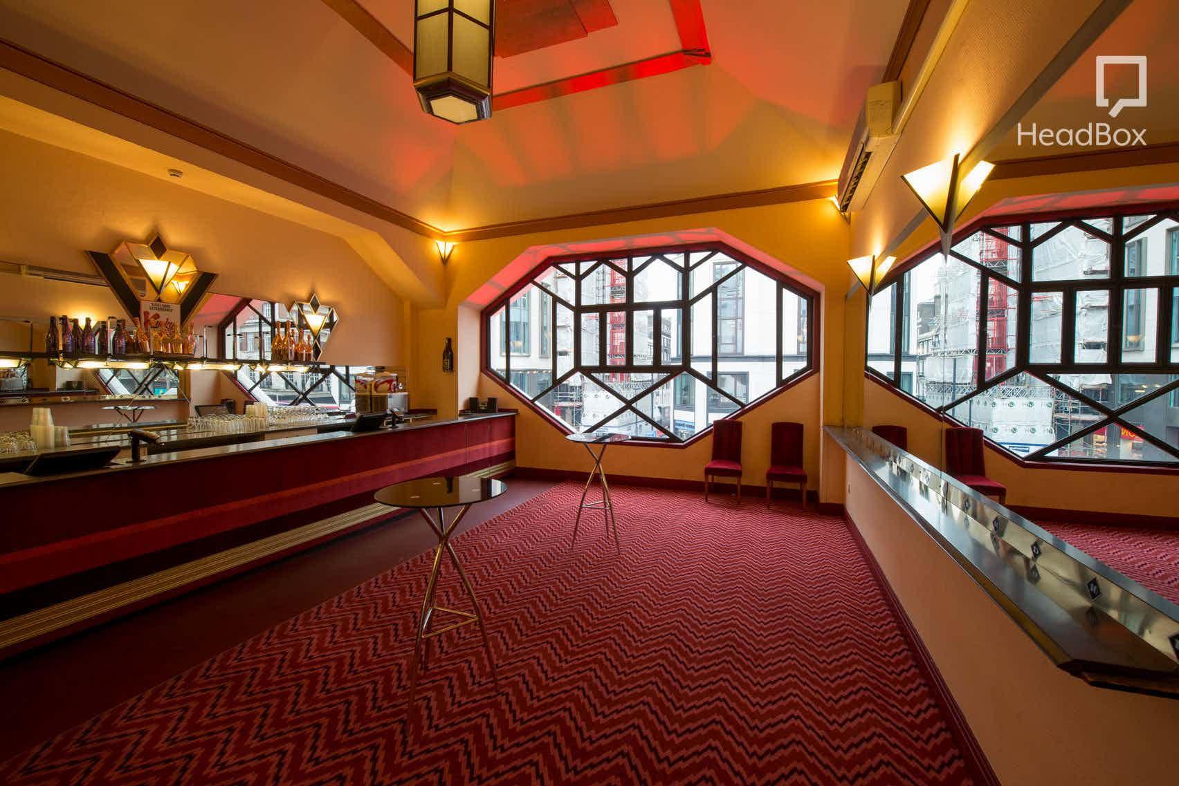 Day Hire, Dress Circle Bar, Adelphi Theatre