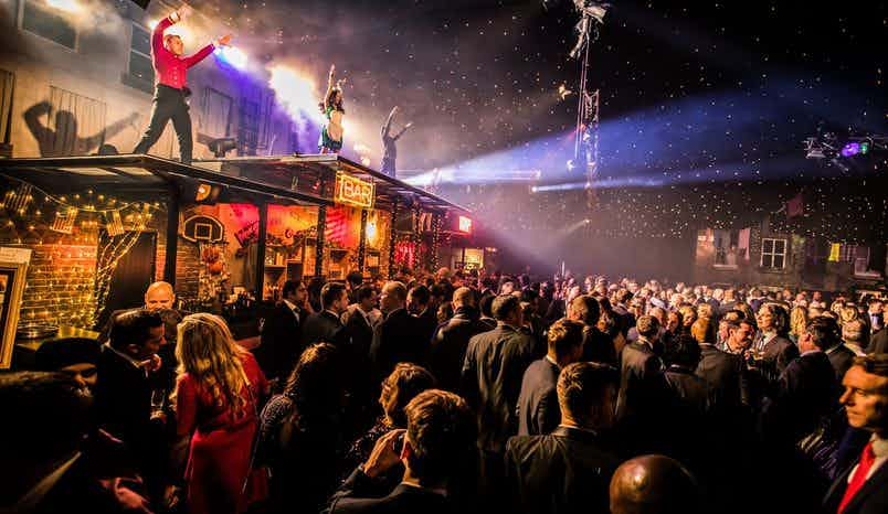 Exclusive Christmas Party, Christmas in New York at Evolution London