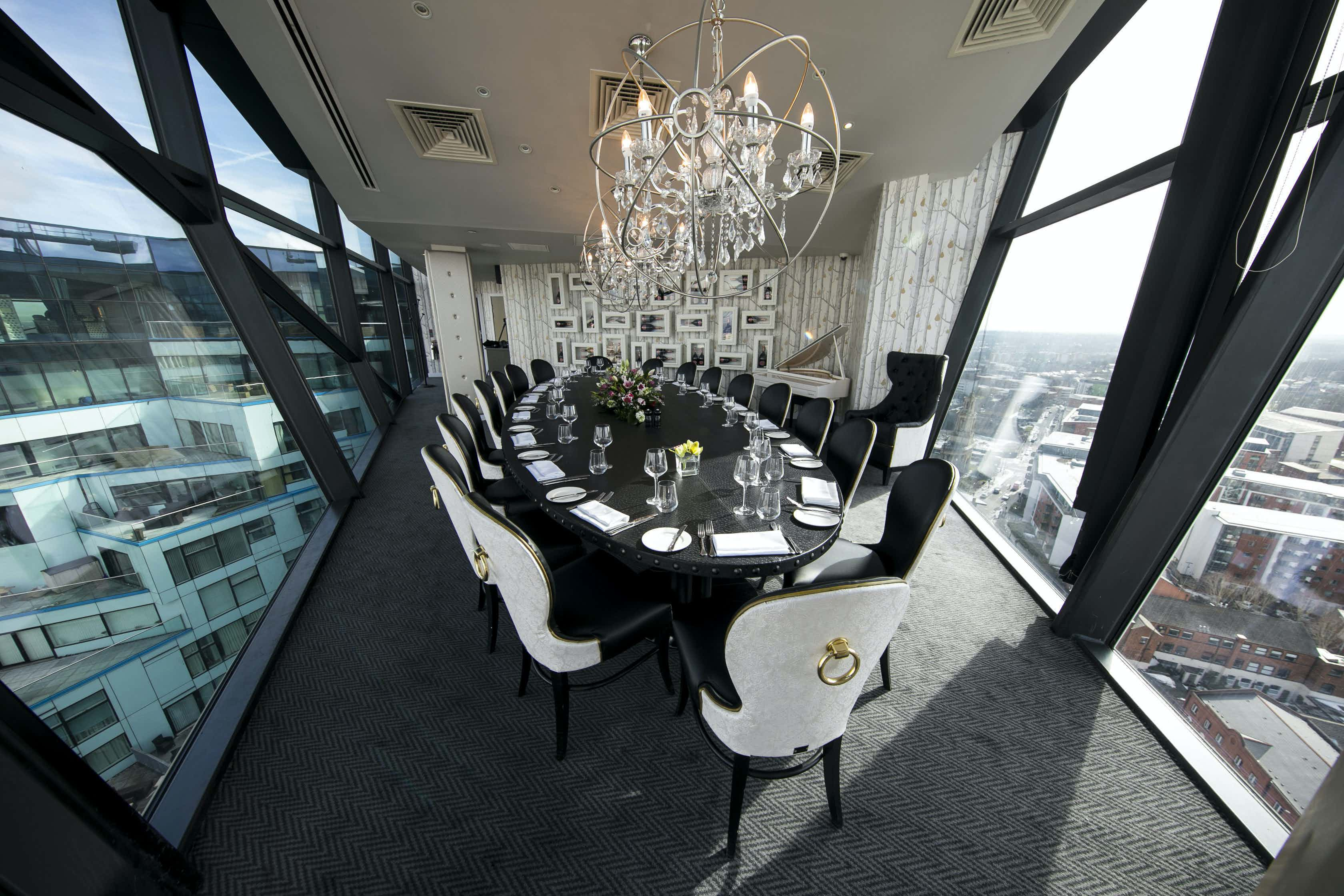 Private Dining Room, Marco Pierre White at The Cube