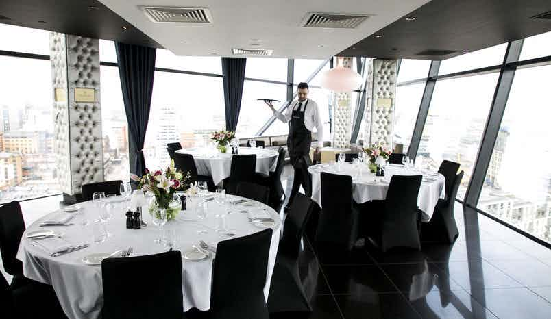 Champagne Room, Marco Pierre White at The Cube
