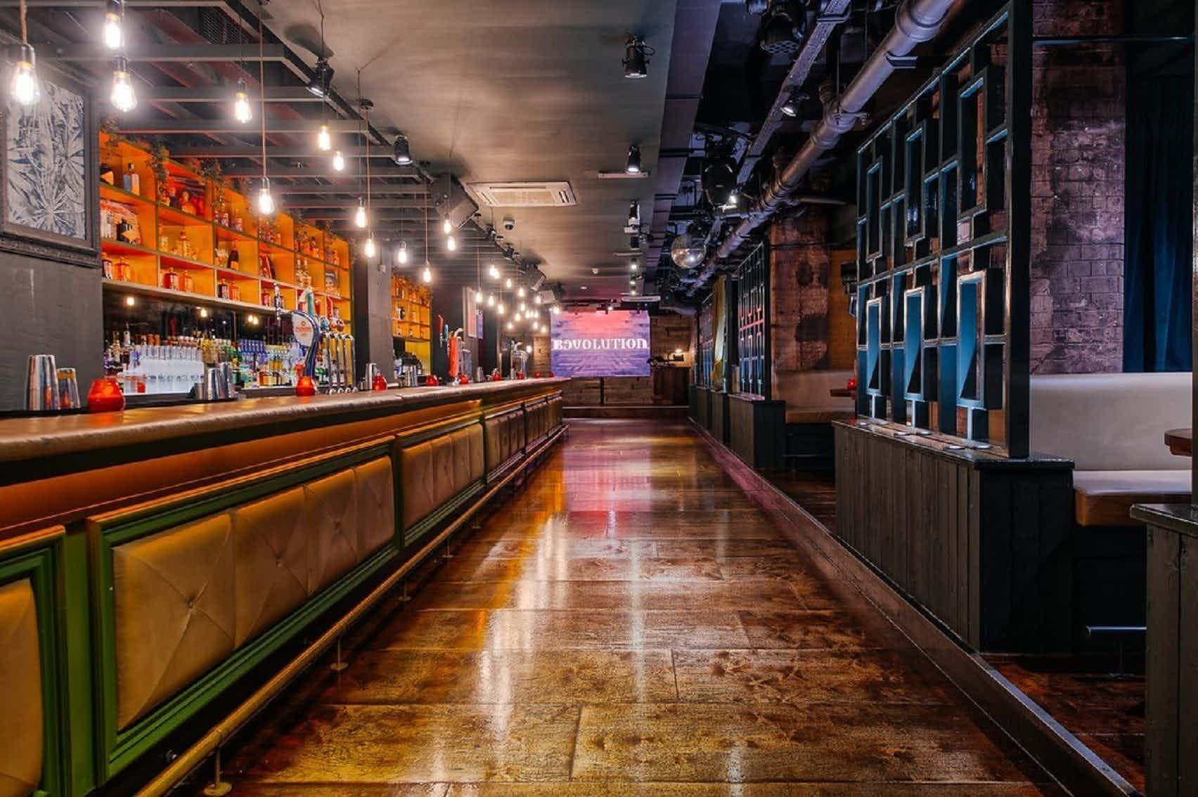 The Basement Bar , Revolution Leadenhall