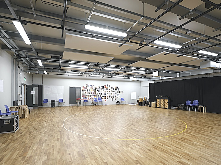 Professional Rehearsal Room **Mountview has a spacious professional rehearsal room to hire in south east London.** 