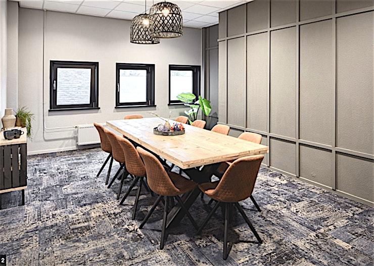 Mix **Mix bij In View is een state-of-the-art, flexibele vergaderruimte te huur in Utrecht.**  Deze volledig ingerichte kamer heeft een oppervlakte van 25 m² en is geschikt voor zowel uw externe vergadering als sollicitaties.  Deze ruimte is uitgerust met een bestuurbare camera, vanuit de viewing room kun je alles wat er in de kamer gaande is zien.