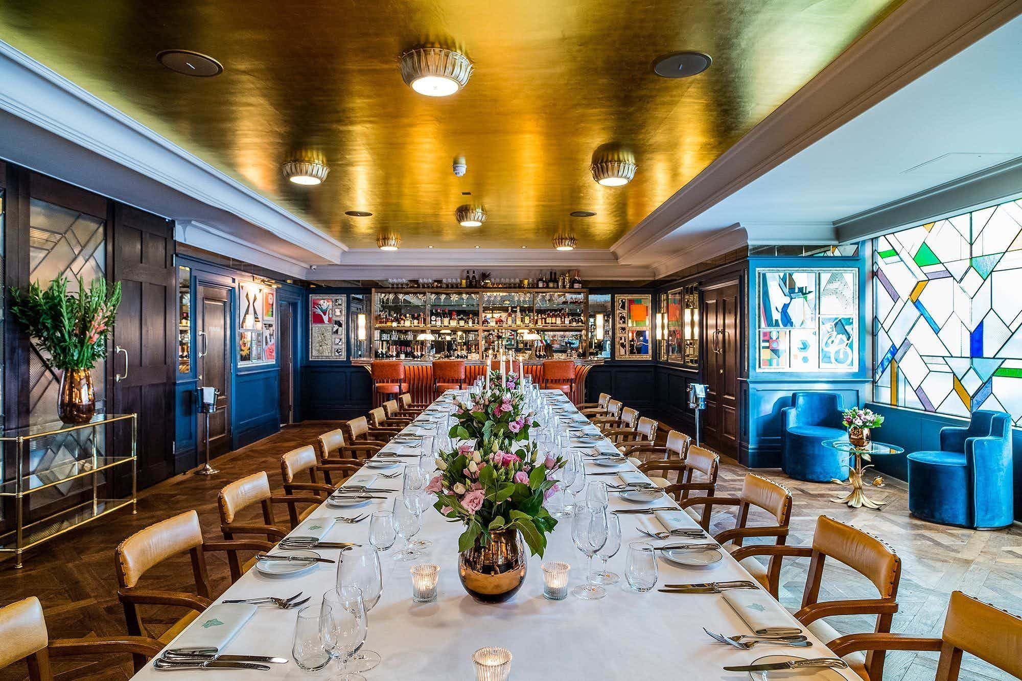 Private Dining Room, The Ivy Soho Brasserie