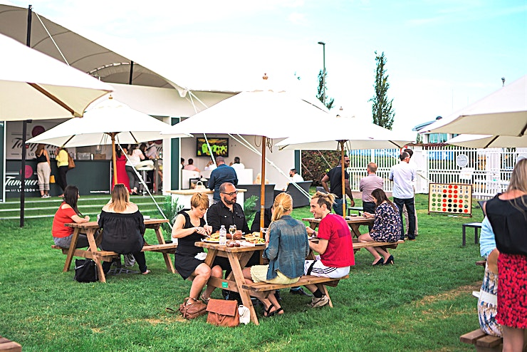 Summer Parties at Epsom Downs Racecourse **For a summer party venue in Surrey, look no further than Epsom Downs Racecourse.**  We provide a range of summer packages to suit your needs, from sizzling BBQs to Great British picnics.  The be