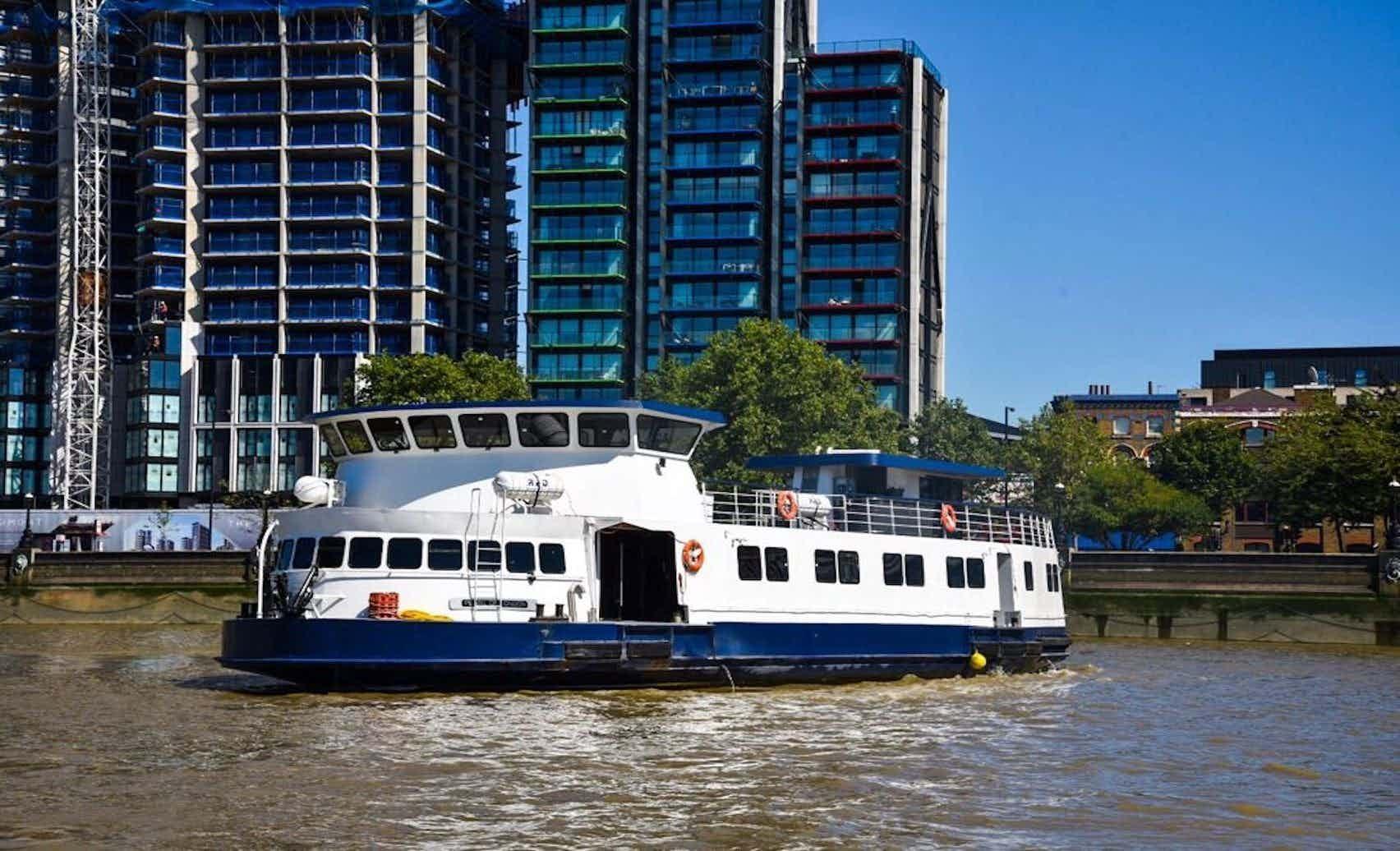 Whole Venue Hire, MV Pearl of London