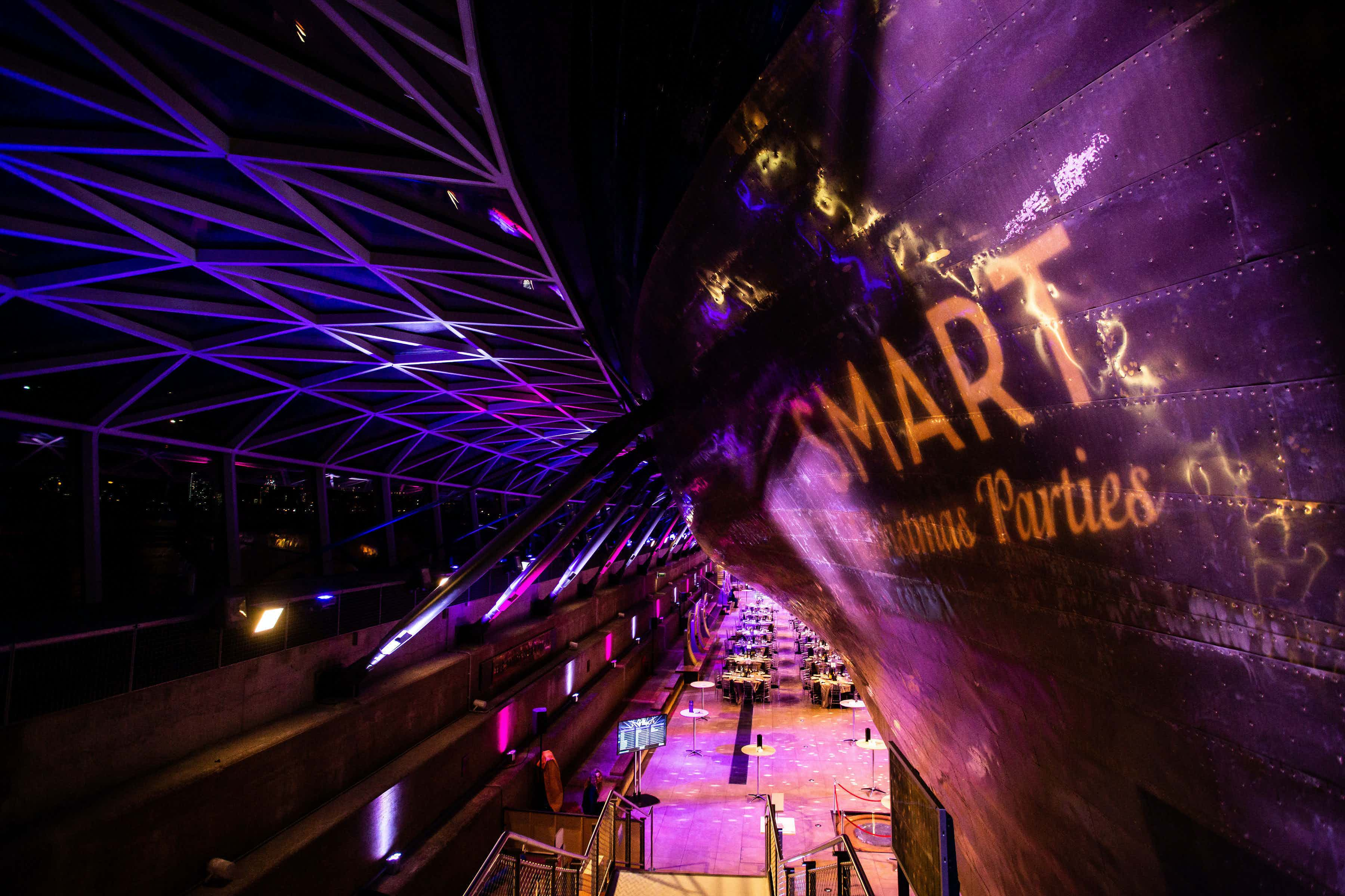 Exclusive Christmas Party, Cutty Sark Greenwich
