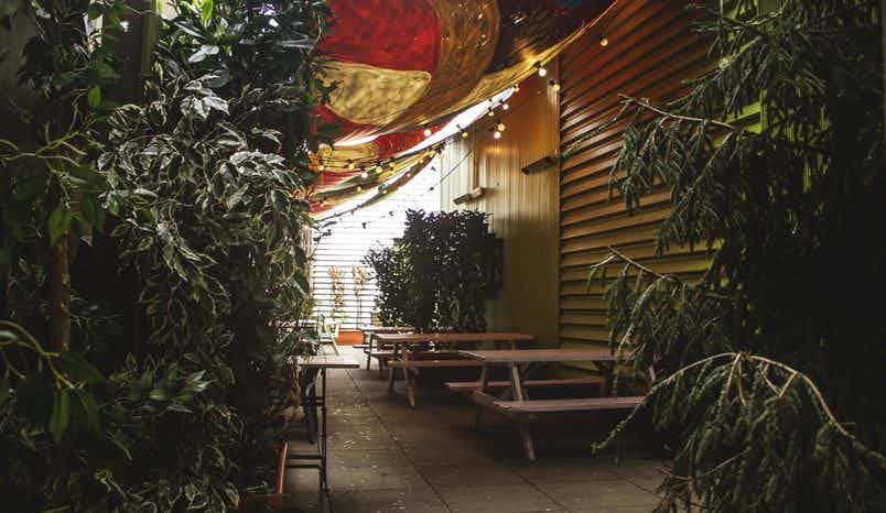 Outdoor Space, The Button Factory