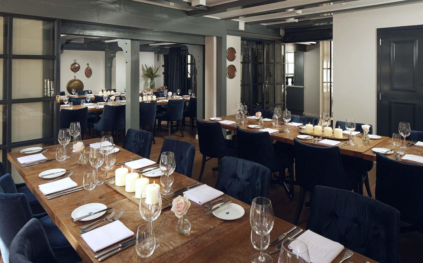 Copper Attic, Lounge, and Copper Chamber , Pulitzer Amsterdam