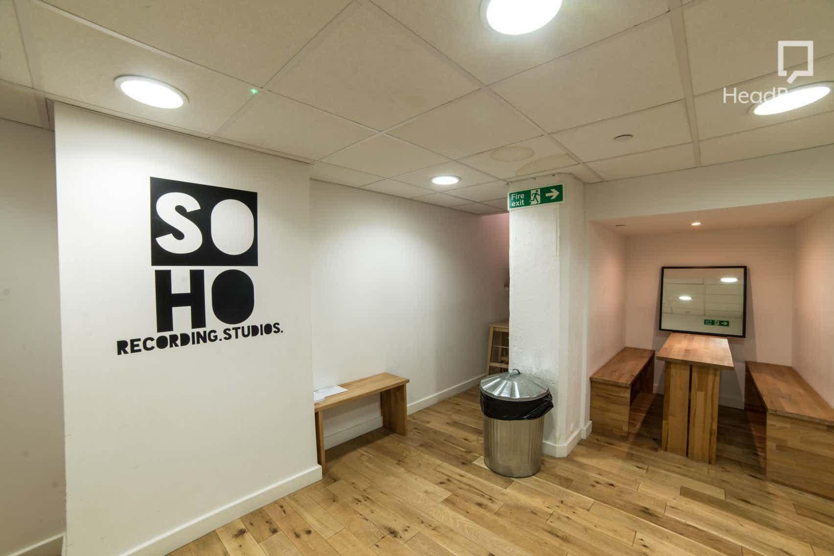 Vocal Booth, Soho Recording Studios