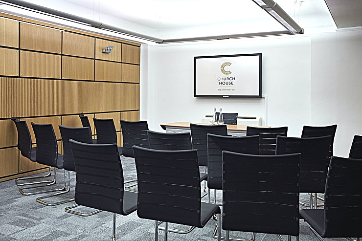 Coggan Room **Hire the Coggan Room at the Church House in Westminster for your meeting room hire in London.**  Church House in Westminster is one of the capital's true hidden gems, this top London venue hire is