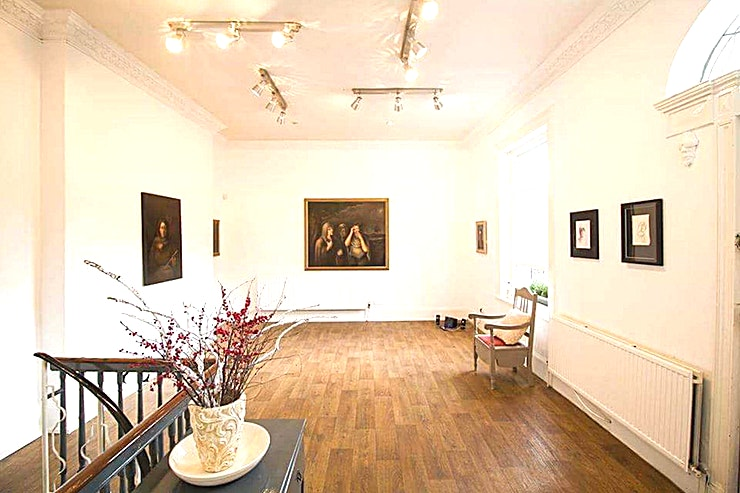 Ground Floor **The Ground Floor Inspire Galerie is a multi-functional gallery Space for hire in Dublin.**  Inspire Galerie situated in the heart of Dublin city is focused on showcasing art by international and local artists.   The venue facilitates a variety of events, including corporate, creative, and private gatherings. The gallery is ideally located close to public transport links and car park facilities.   Established in 2009, Inspire Galerie are independently run, allowing their clients a unique opportunity to host their events in a professional setting surrounded by beautiful art.