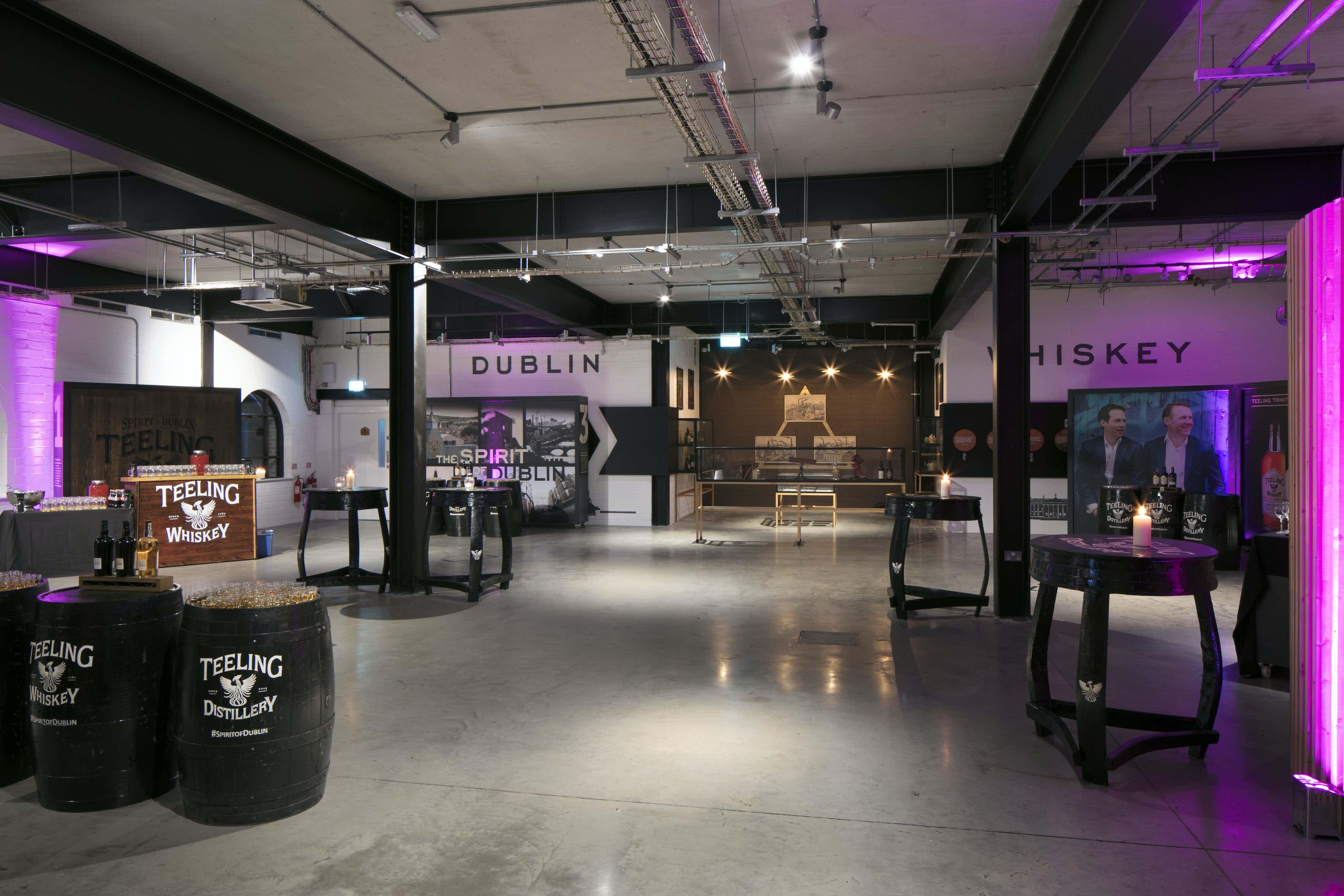 Exhibition Space, Teeling Whiskey Distillery