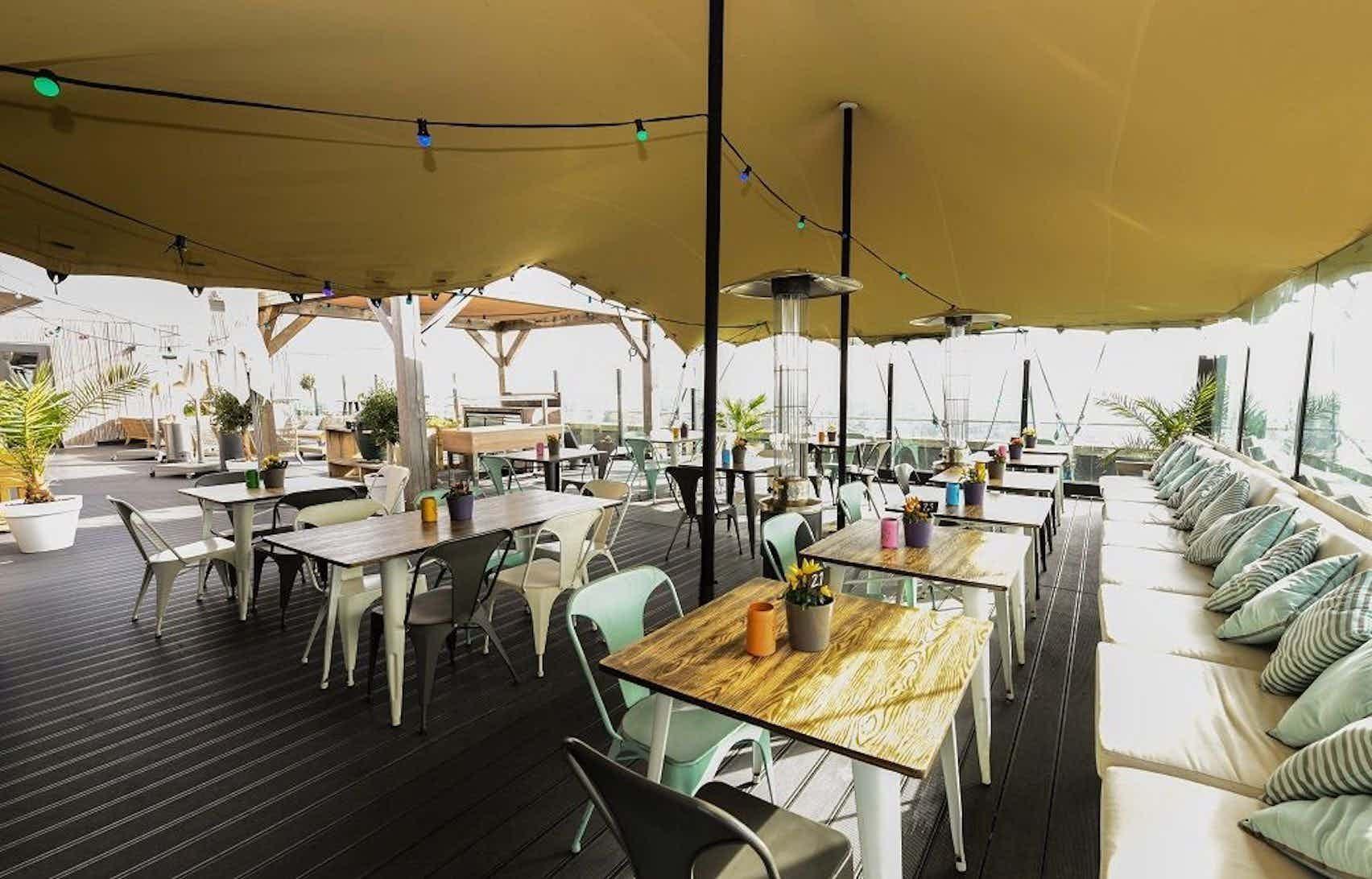 Rooftop Terrace, Bar Side, Ramada Apollo Amsterdam Center