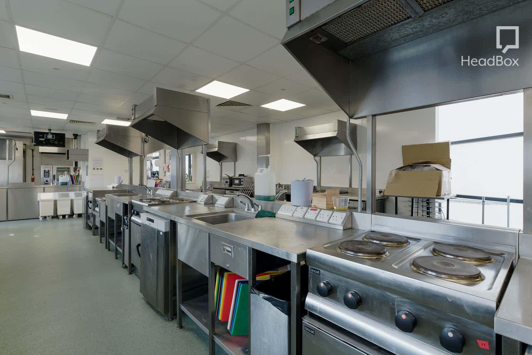 Afternoon, Kitchen 1, Open Kitchen