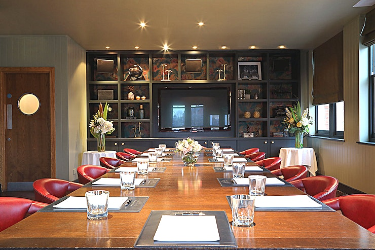 Private Dining Room (2nd Floor) **The Private Dining Room at Beaufort House Chelsea is a stunning venue for hire in London.**