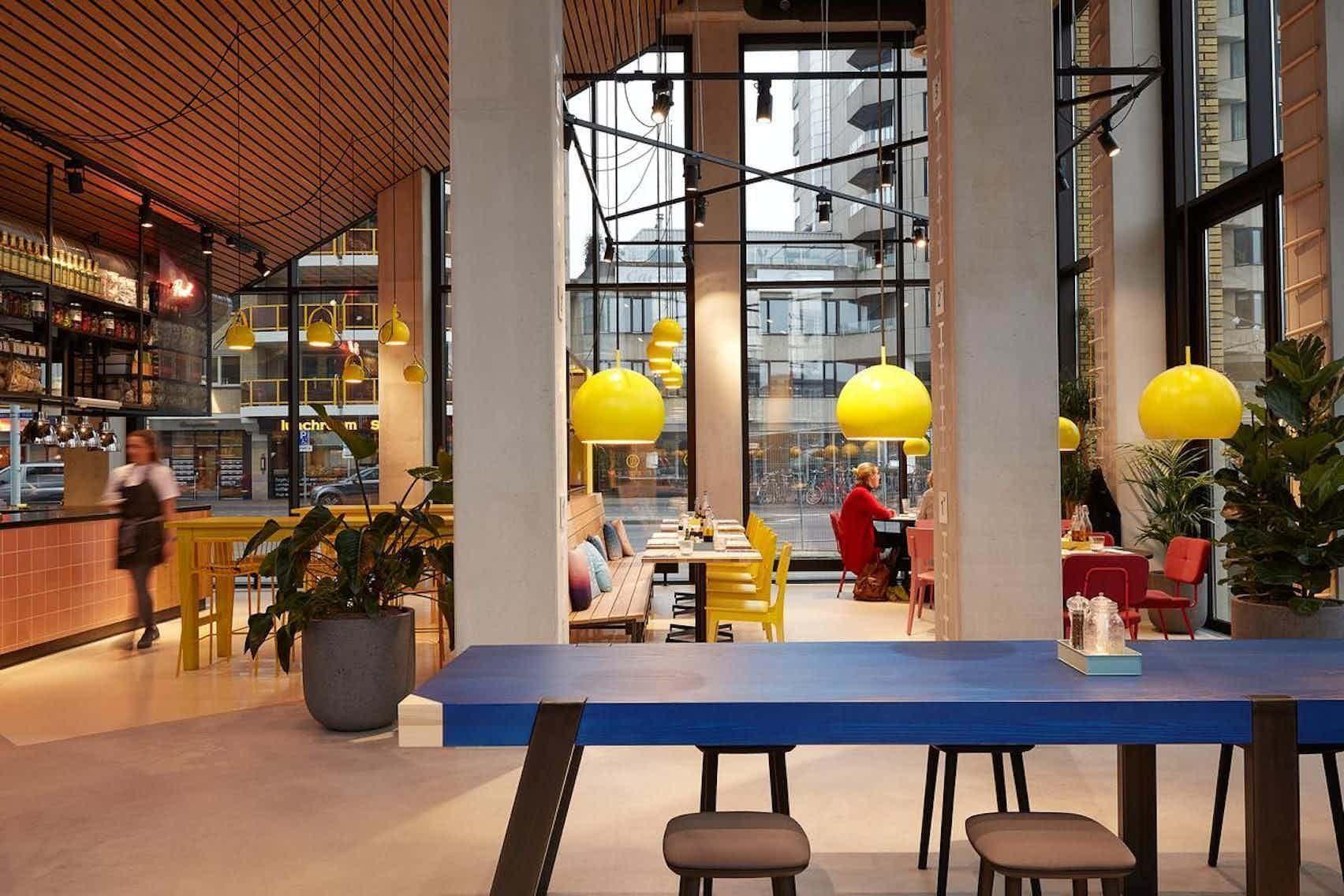 Restaurant, The Student Hotel Eindhoven