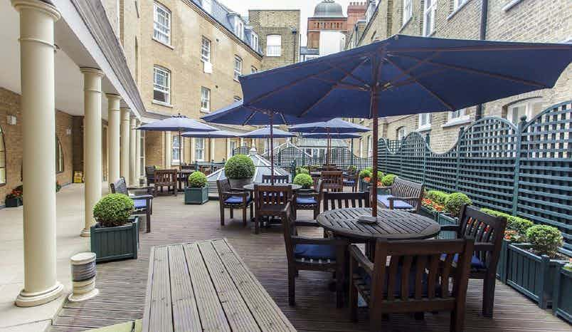 Roof Terrace, The Sloane Club