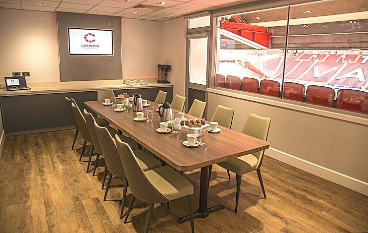 West Box **West Box at Charlton Athletic Football Club is a state-of-the-art meeting room for hire.**