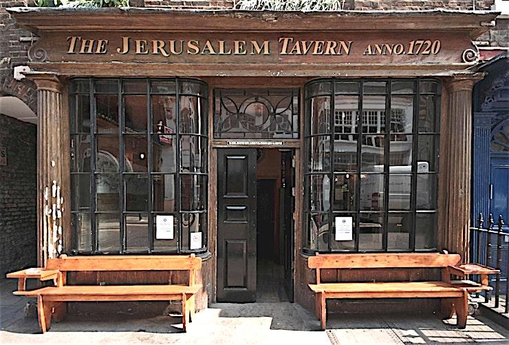 The Jerusalem Tavern  O'CONNOR'S FAMOUS PUB