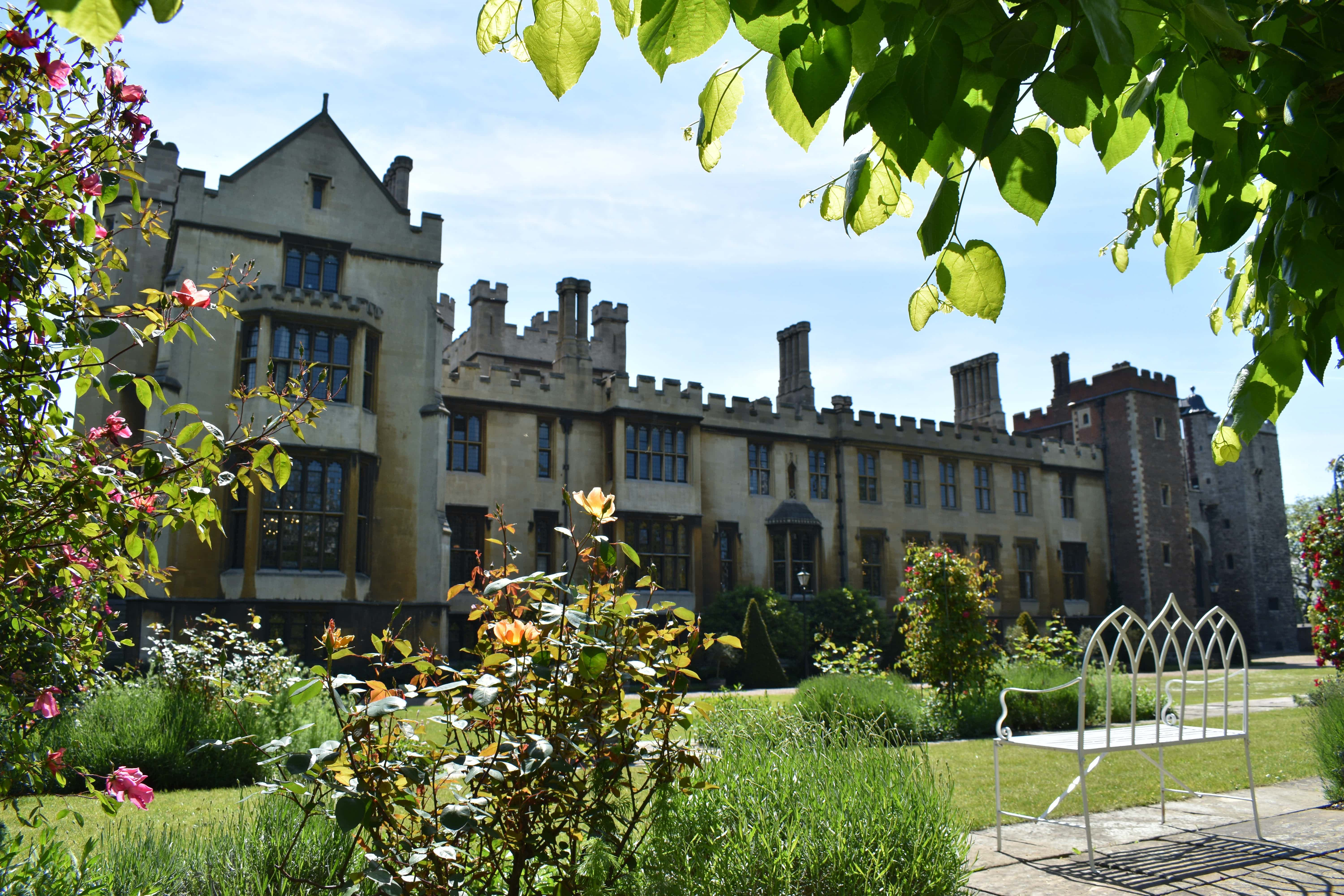 Gardens and Marquee, Lambeth Palace