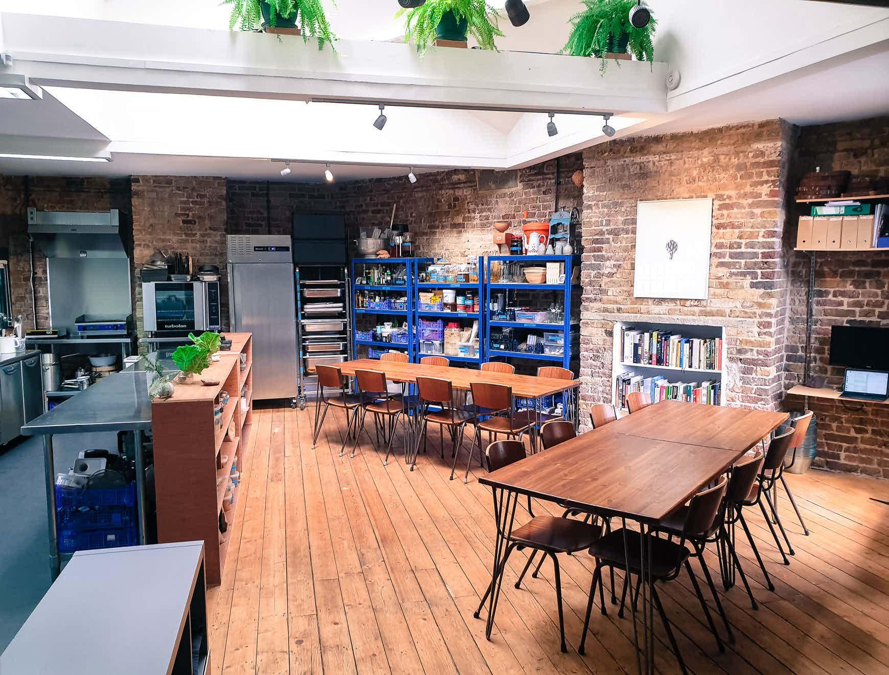 Kitchen Studio/Meeting Room, Blanch & Shock at Artichoke Mews