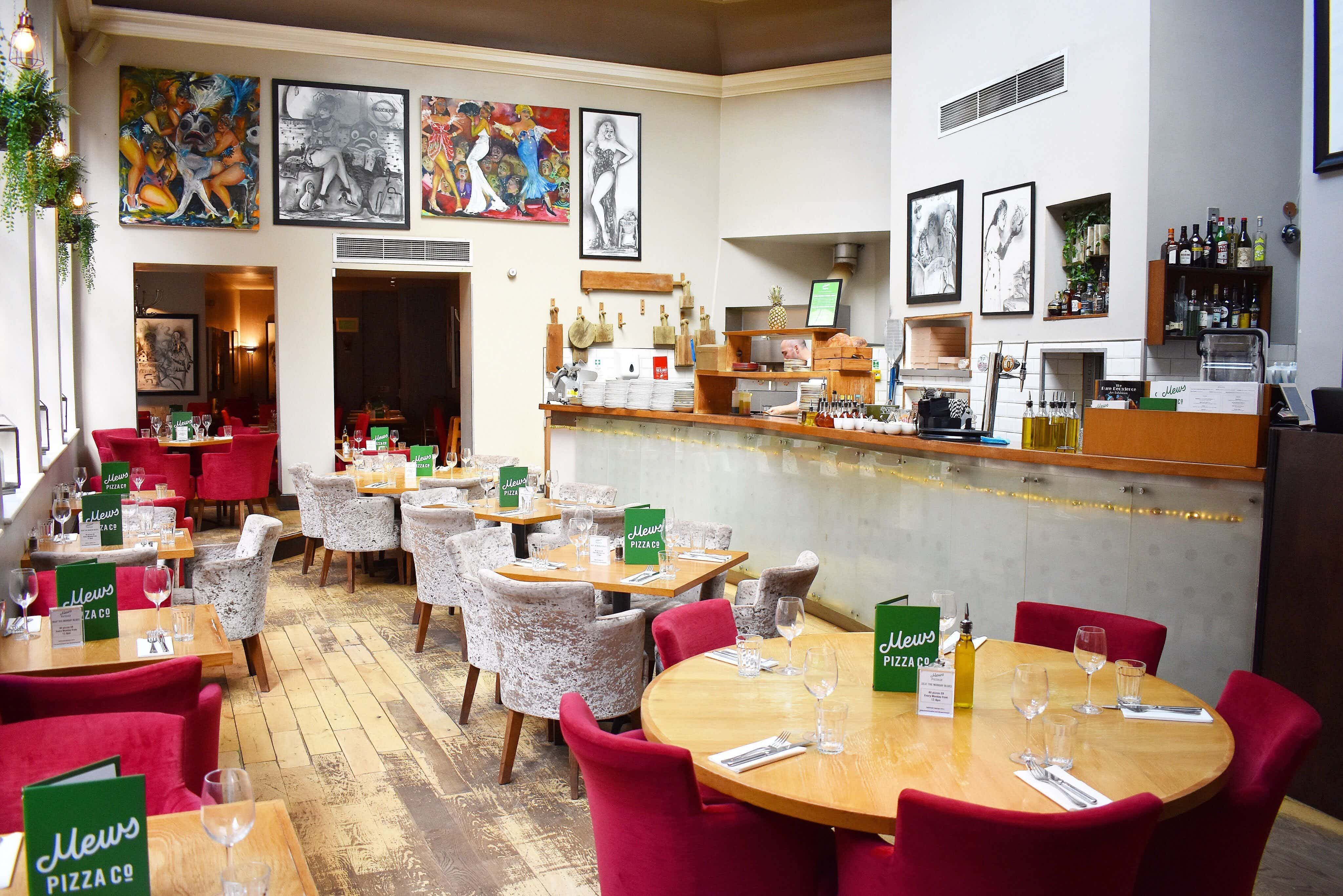 Mews Pizza Co, Mews of Mayfair