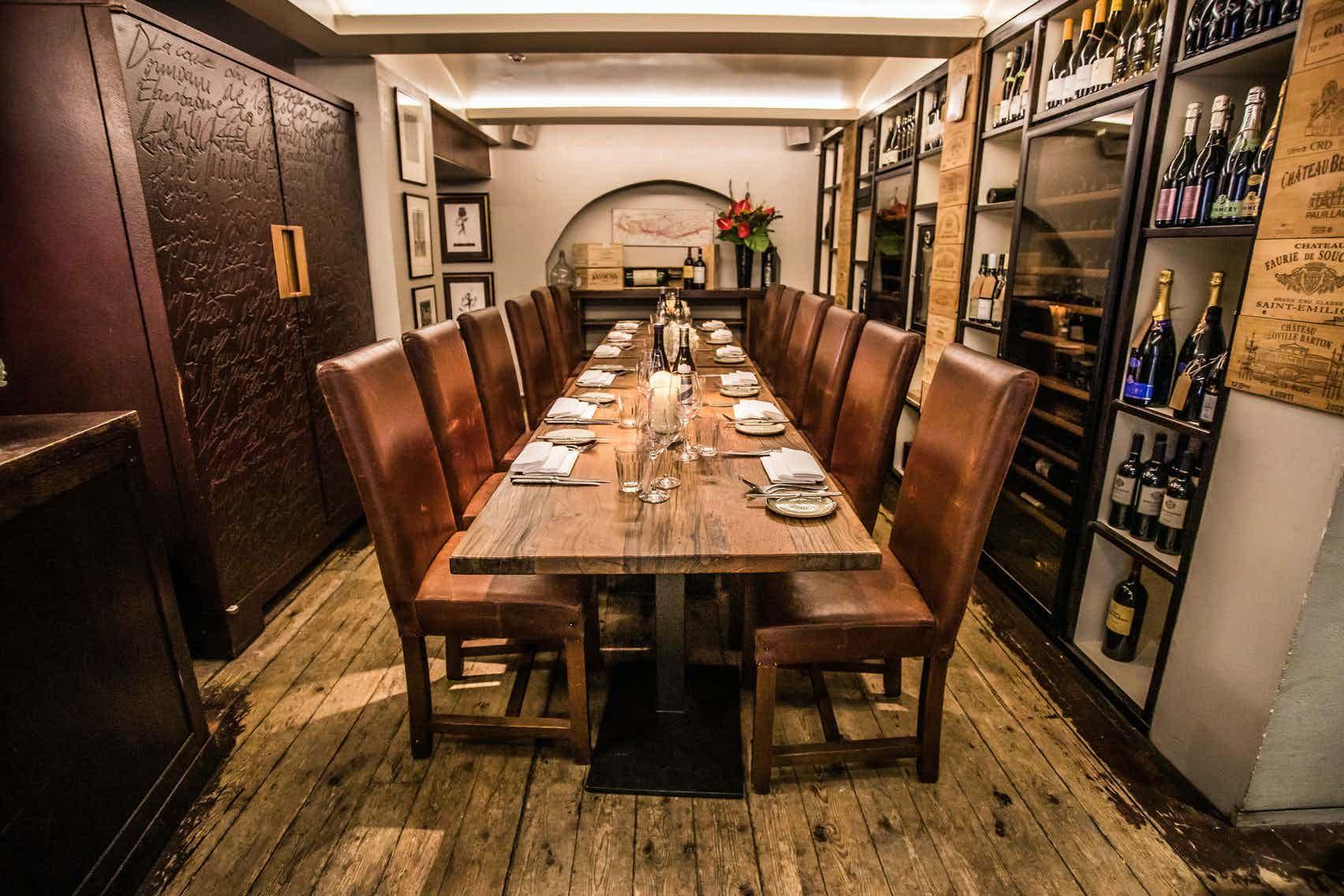 Wine Room, Mews of Mayfair