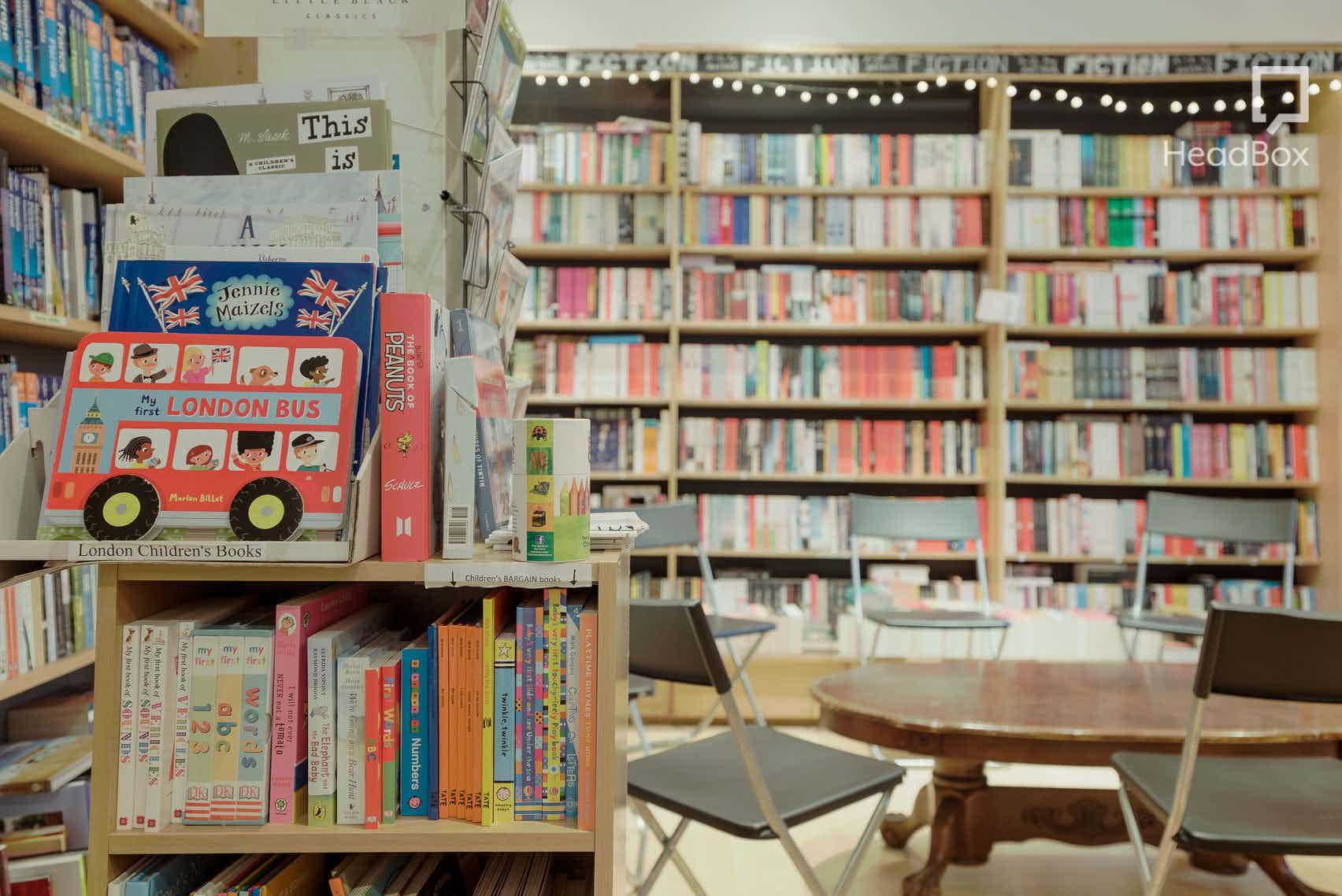 Evening Hire, Creative Shop Space, Bricklane Bookshop