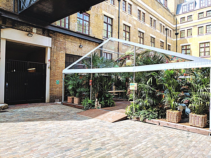 Courtyard Marquees **Book The Courtyard Marquees at The Brewery**