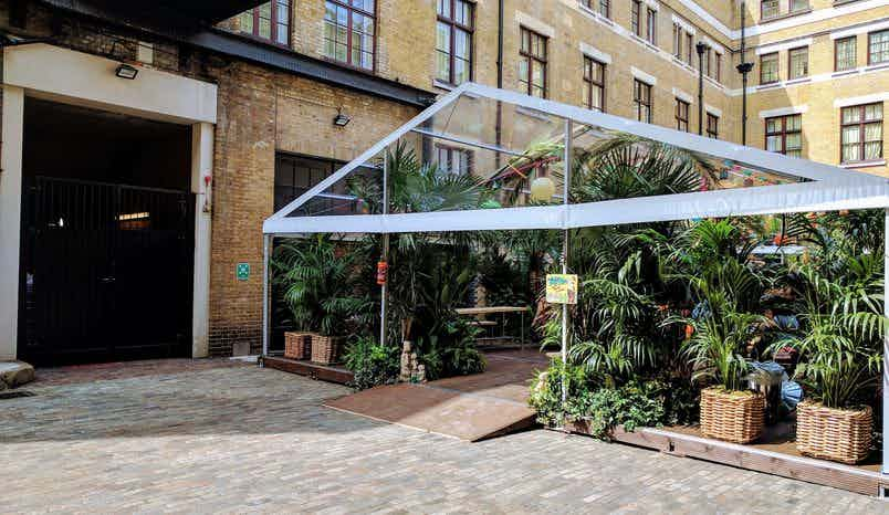 Courtyard Marquees, The Brewery