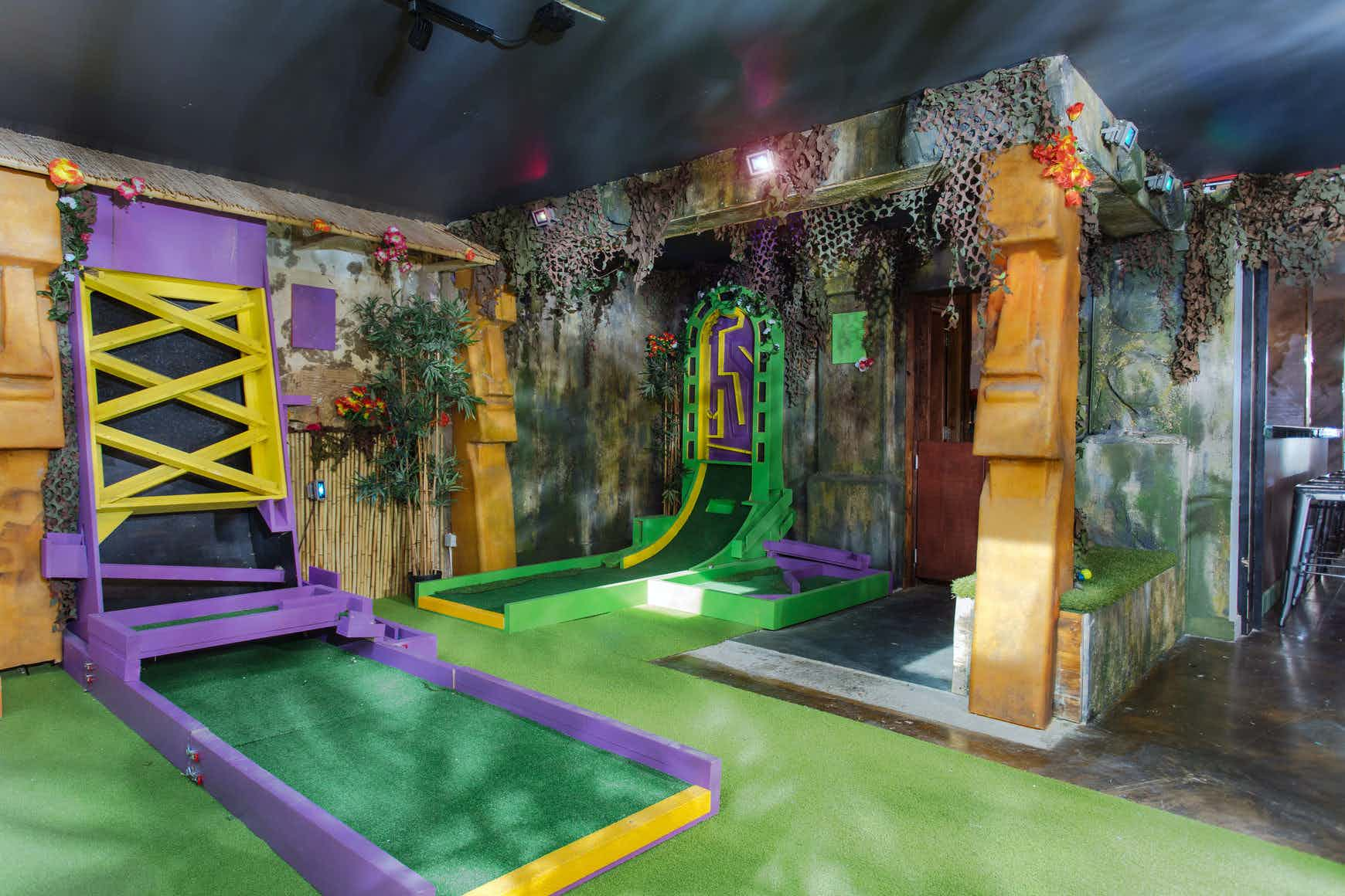 Whole Venue Hire, Plonk Crazy Golf Hoxton