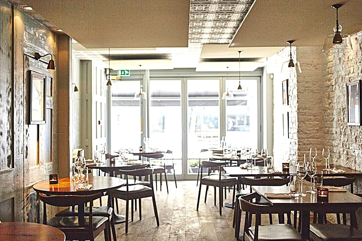 Semi-Private Dining Located in the heart of London's Marylebone Village, Trishna delivers a contemporary taste of Indian coastal cuisine, and an extensive wine list that focuses on emerging regions and fine wines from ni