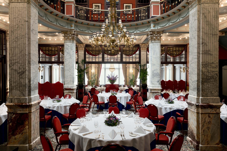 Lounge and Restaurant, Hotel Des Indes