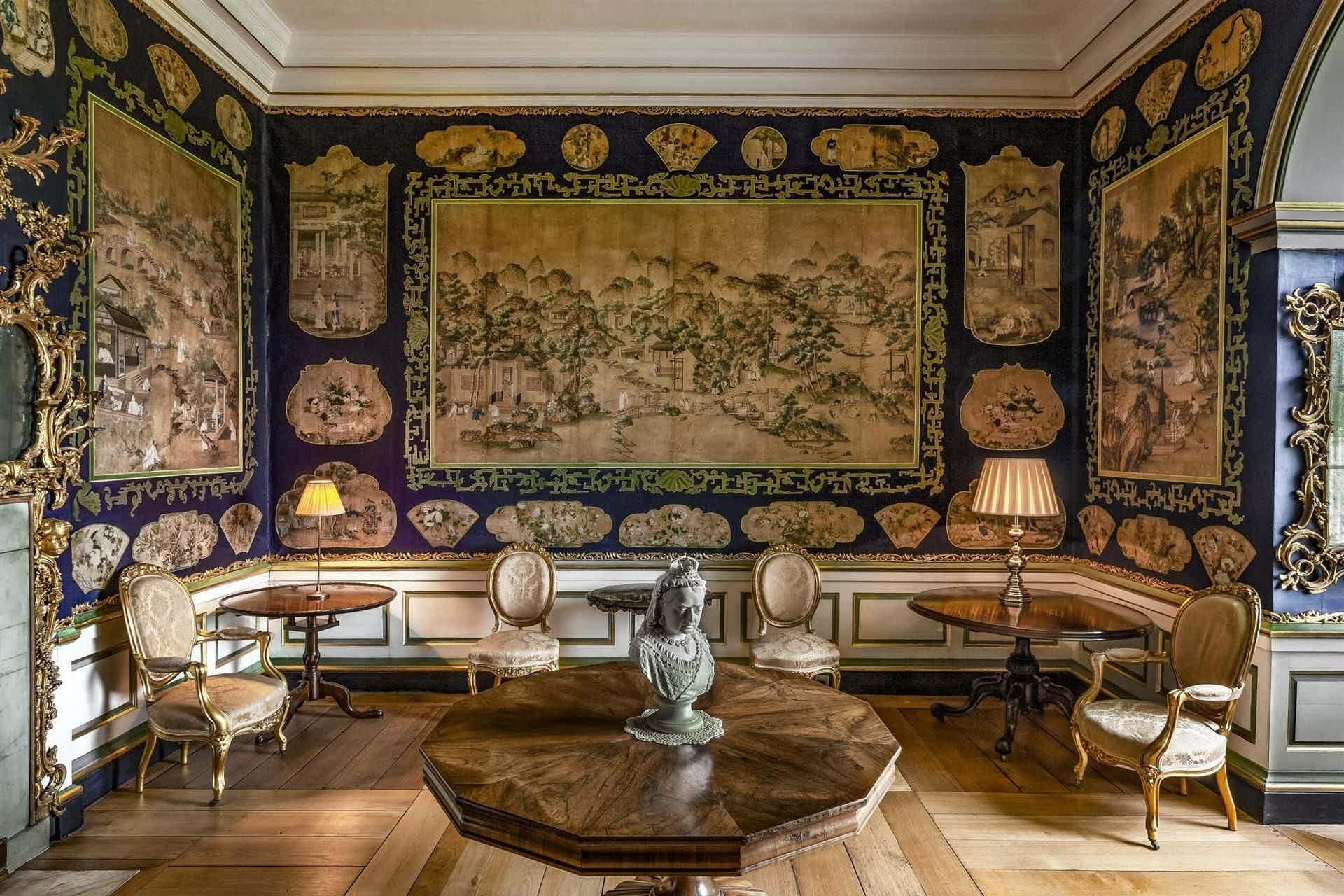 The Chinese Boudoir , Carton House
