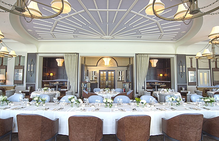The Glendevon **The Glendoven at Gleneagles Hotel is a stunning event Space for hire in Perthshire.**  With panoramic views over the immaculate lawns of Gleneagles to the hills beyond, this elegant, historic room