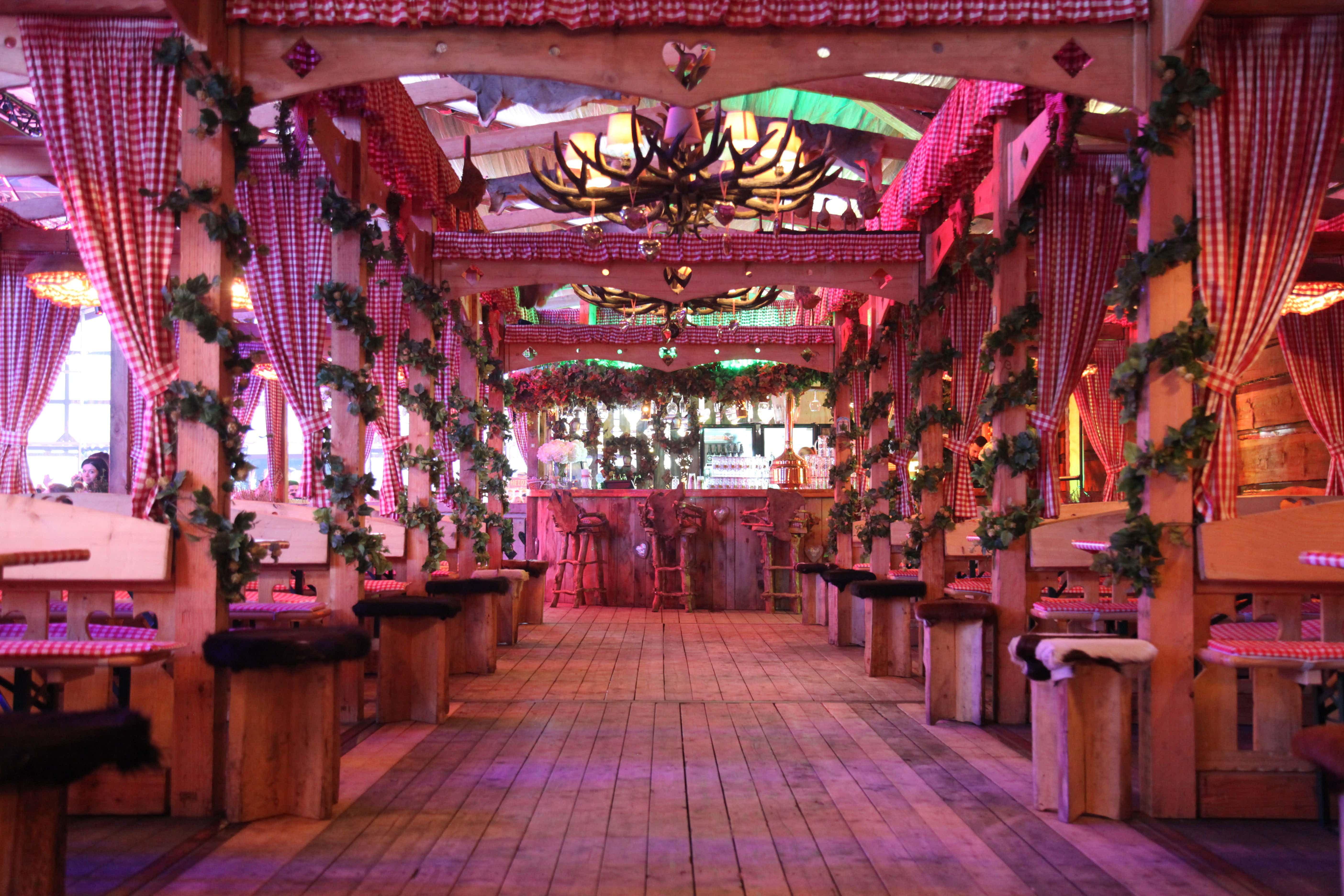 Bavarian Hall - VIP Area, Winter Wonderland