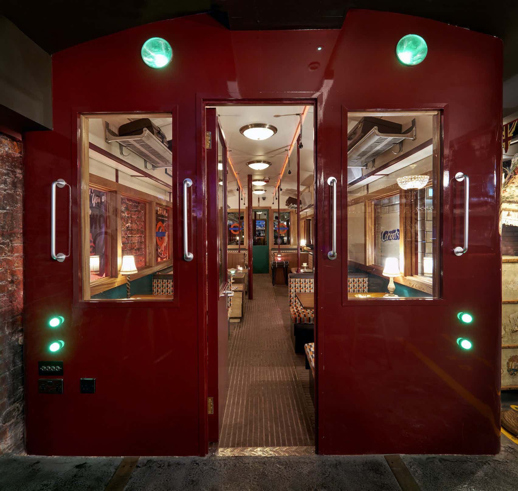 Train Carriage, Evening Hire, Cahoots