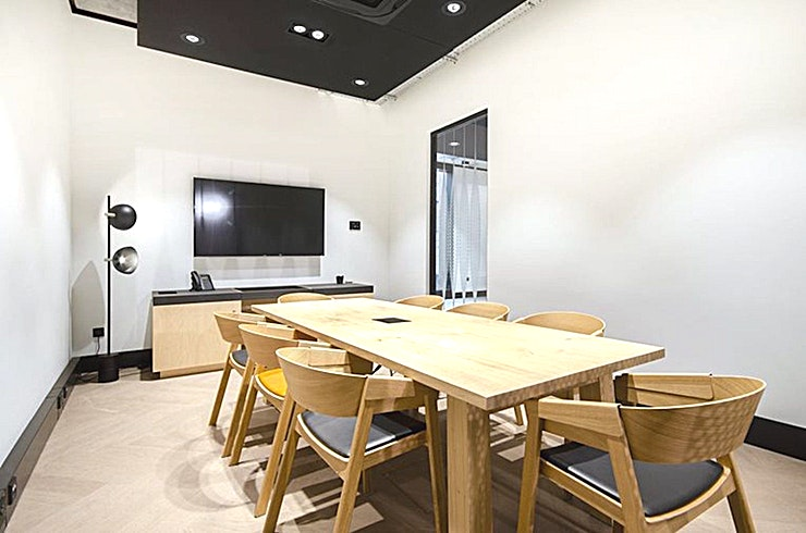 Mirror **Need a meeting room in Shoreditch? The Frames is available to hire.**  This meeting room is stylish and suitable for up to 8 people.   This meeting room is located in the heart of Shoreditch and
