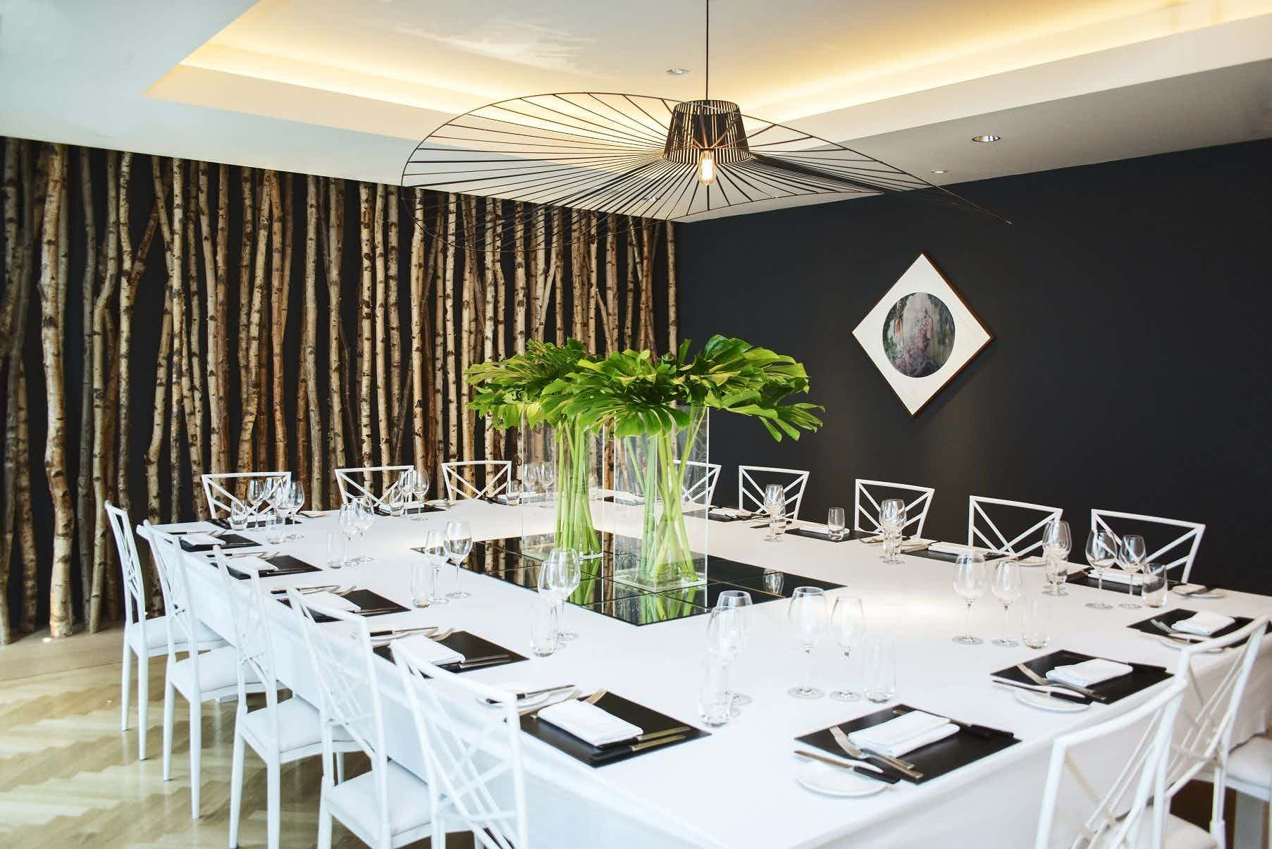 Peel, South Place Hotel Private Dining Rooms