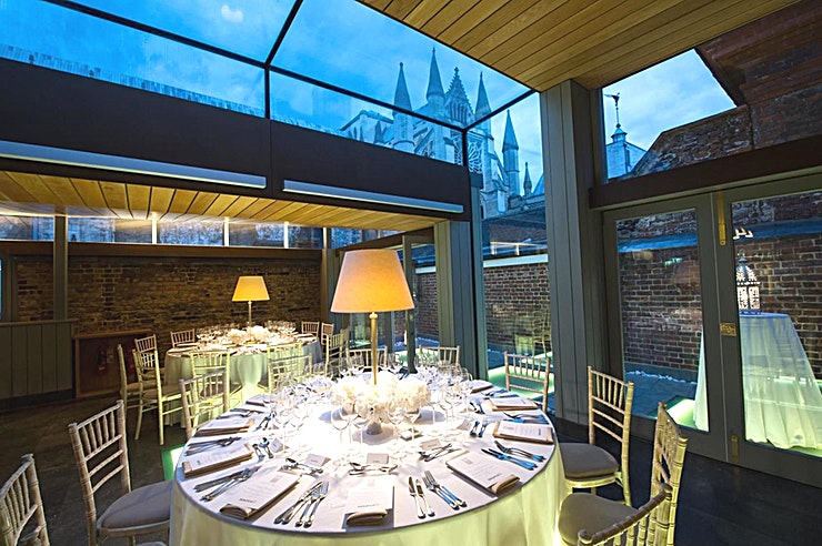 The Cellarium Terrace **Expect the unexpected at The Cellarium Terrace at Westminster Abbey.**