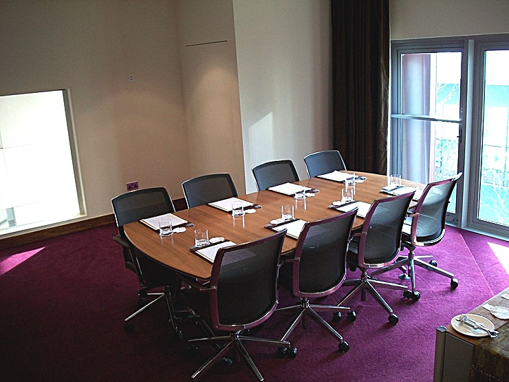 Boardroom **Want a boardroom style meeting in an impressive London venue? Welcome to the Canary Riverside Plaza.**