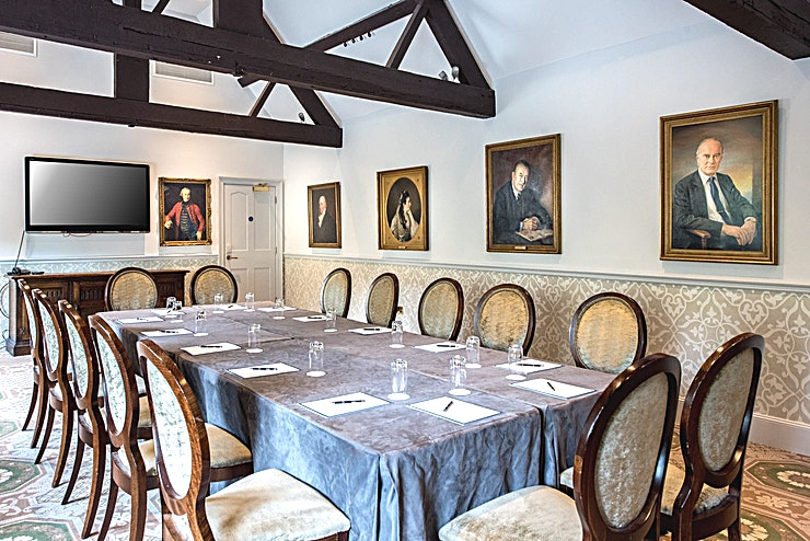 The Cleeve **Book The Cleeve Room for an intimate meeting room reflective of the manor's esteemed history**  In the heart of the Cotswolds you'll find Ellenborough Park, renowned for its hospitality, luxury an
