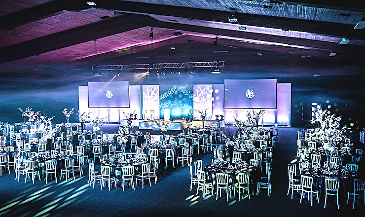 The Arena at Gleneagles **The Arena at Gleneagles is a stunning events Space for hire in Perthshire.**  A short stroll through the beautiful grounds brings you to The Arena. Opened in May 2015, the state-of-the-art facility has the capacity for 2,250 Guests across 2,500 square metres.   A blank canvas for larger events like product launches, exhibitions, concerts and conferences, it has been carefully designed for quick set-ups and ambitious builds.   The Arena is ready to go whenever you're planning a big event – all you have to bring is your imagination.