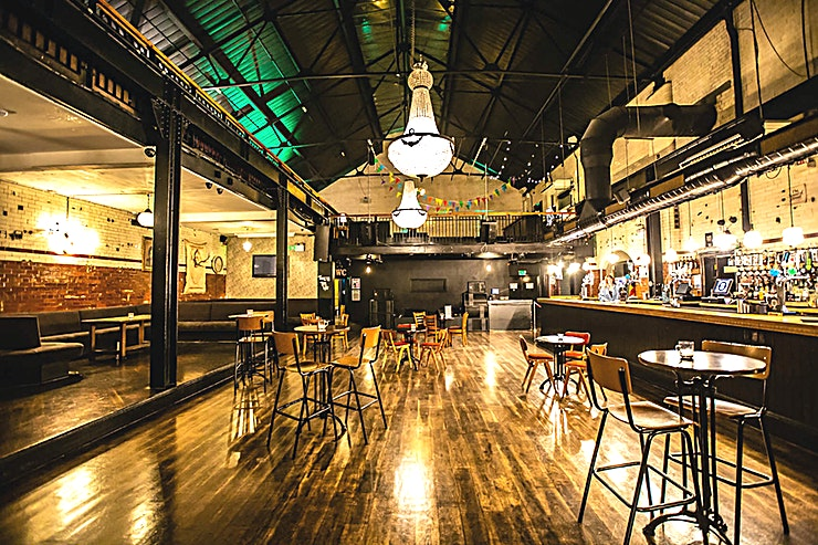Venue Hire **Tooting Tram and Social is a superb event Space for hire in Tooting.**  Situated barely a 2-minute walk from Tooting Broadway station, the Tooting Tram & Social has been run by Antic London for a