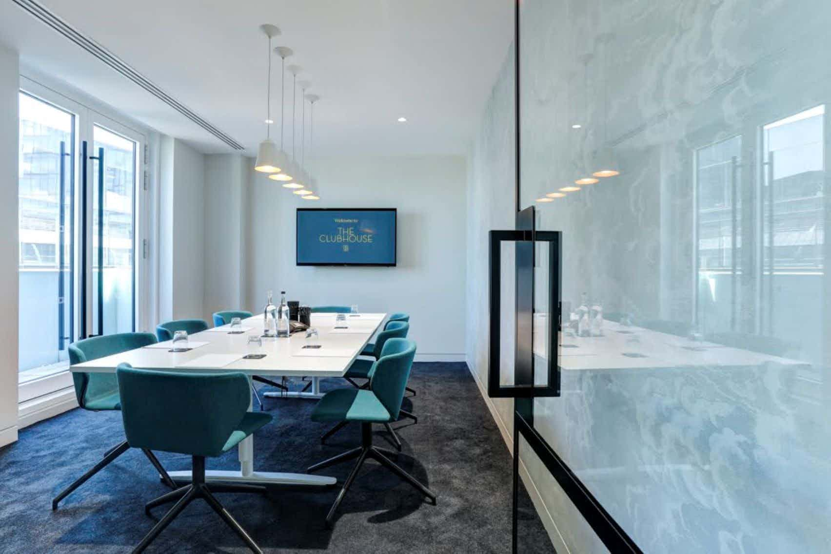 Meeting Room 1, The Clubhouse, Holborn Circus