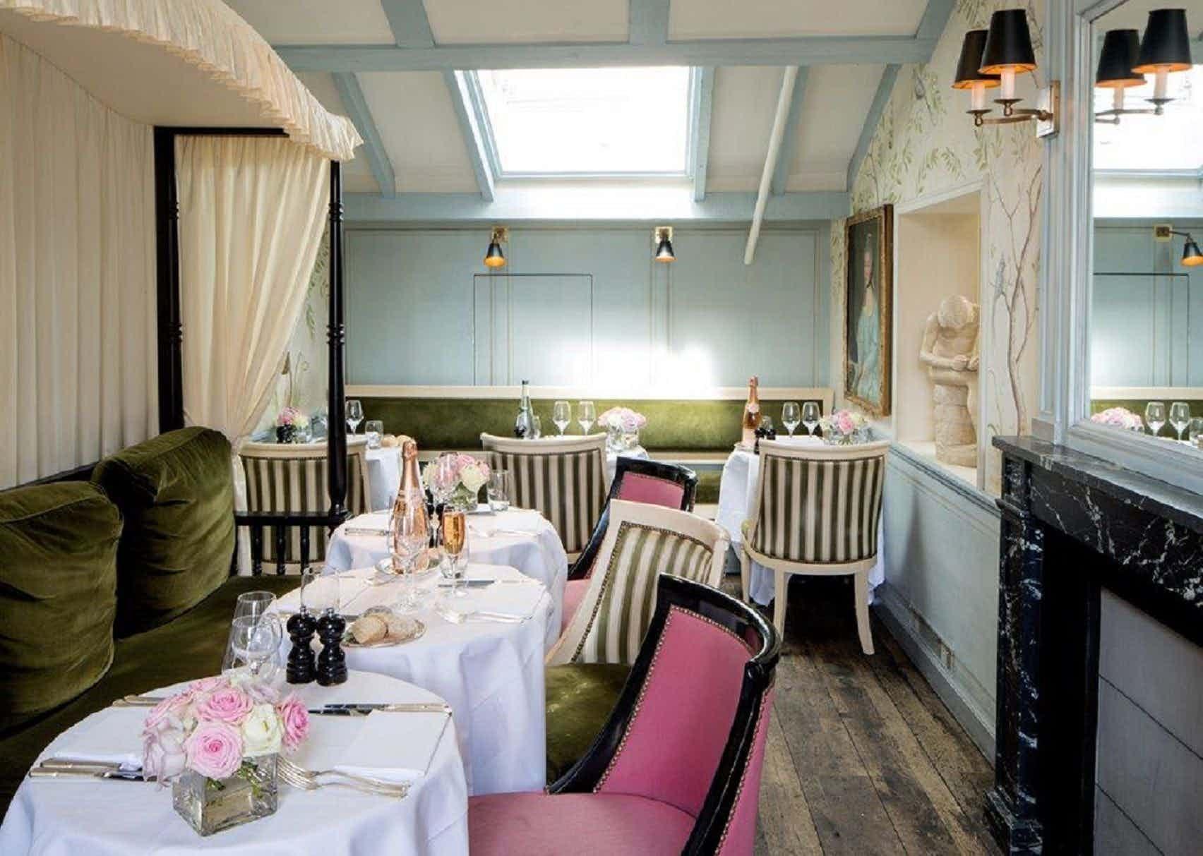 The Traveller's Tea Room, Ladurée at Covent Garden